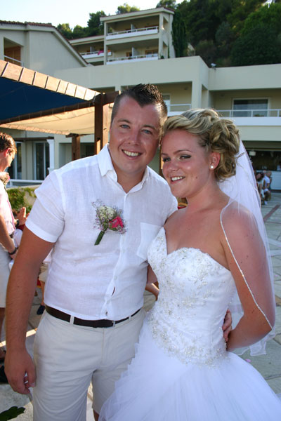 wedding. skiathos 2014